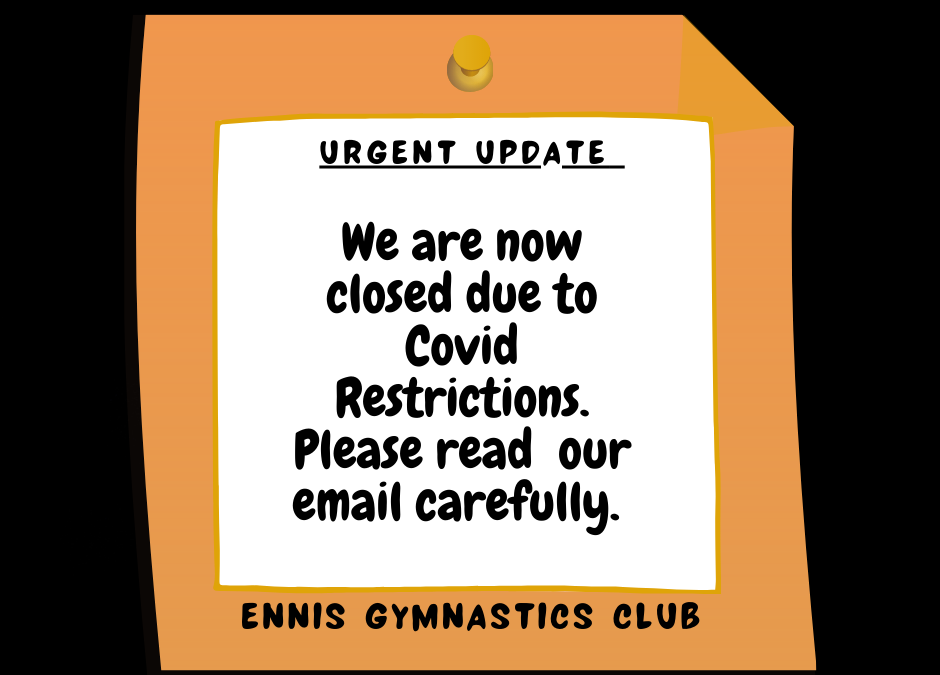 Urgent Update(amended as of 21/10/2020)
