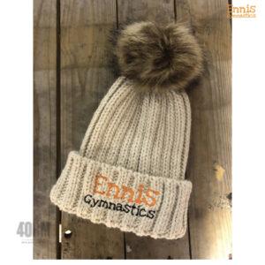 Ennis Gymnastics Beanie Hat